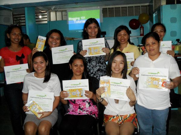 cdo bloggers, blogging workshop